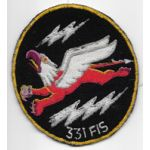 1950's-60's US Air Force 331st Fighter Interceptor Squadron Patch