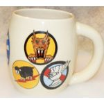 Korean War 49th Fighter Bomber Wing 5th Air Force Japanese Made Mug