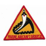 1970's US Marine Corps Marine Aircraft Group / MAG-31 Japanese Made Squadron Patch
