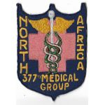 US Air Force 377th Medical Group North Africa Squadron Patch