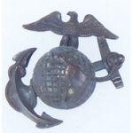 Pre-1930's US Marine Corps Cap Badge