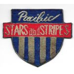 Occupation - Early 50's Pacific Stars And Stripes Bullion Patch