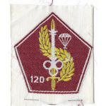 ARVN / South Vietnamese Army 120th Airborne Quartermaster Directorate Patch