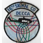 Vietnam 16th Signal Company DECCA Pocket Patch
