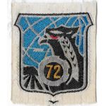 ARVN / South Vietnamese Air Force 72nd Tactical Wing Patch