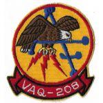 1960's US Navy VAQ-208 Squadron Patch