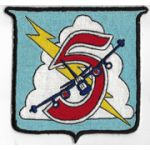 1950's US Navy VP / Patrol Squadron Crew 5 Patch