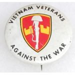 MACV Vietnam Veterans Against The War Pin Back