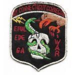 """Vietnam Special Forces Recon Team Connecticut """"TEAM"""" Pocket Patch"""