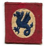 1950's 508th Regimental Combat Team Theatre Made Patch