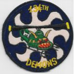 Vietnam 134th Assault Helicopter Company DEMONS Pocket Patch