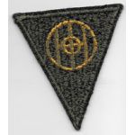 WWII 83rd Division Green Back Patch