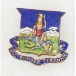 Pre-WWII Virginia State Staff DI BB&B Hallmark