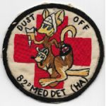 Vietnam Martha Raye's 82nd Medical Detachment (HA ) DUST OFF Pocket Patch