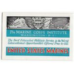 1937 Marine Corps Institute Recruiting Pamphlet