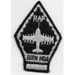 Vietnam Martha Raye's USAF 604th Special Operations Squadron Bien Hoa Squadron Patch