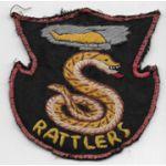 Vietnam Martha Raye's 501st Aviation Company RATTLERS Pocket Patch