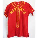 1940's-50's US Marine Corps Baseball Jersey