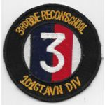 Vietnam 3rd Brigade Recon School 101st Airborne Division Pocket Patch