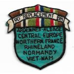 Vietnam Martha Raye's 90th Replacement Battalion Pocket Patch