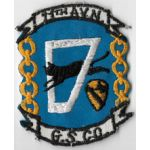 Vietnam 11th Aviation General Support Company Pocket Patch