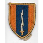 Vietnam Martha Raye's Identified 1st Signal Brigade Patch