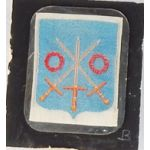 WWII 300th Infantry Silk Woven DI