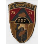 Vietnam 267th Signal Company GYPSY TIPSY II Field Force Vietnam Pocket Patch