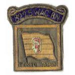 WWII - Occupation 8225th WAC Battalion MacArthurs HQ Bullion Patch