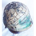 Iraqi Army Helmet with Net