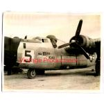 "B-24 Bomber ""Miss Kay"" Photo 461st Bombardment Group"