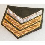 1950's-1960's ARVN / South Vietnamese Army Civil Guard Corporal 1st Class Pin On Chevron