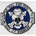 USS John F Kennedy We Kill For Peace Cruise Patch