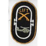 Vietnam 9th Cavalry Lift Platoon Pocket Patch