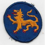 WWII 157th Ghost / Phantom Division Patch