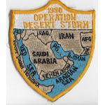 Operation Desert Storm 1990 Tour Patch