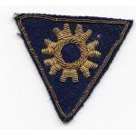 WWII Italian Made Bullion AAF Mechanics Specialty Triangle Patch