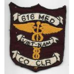 Vietnam 616th Medical Company Pocket Patch