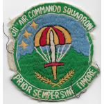 Vietnam US Air Force 311th Air Commando Squadron Patch