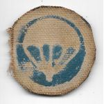 WWII Airborne Infantry Theatre Made Cap Patch