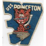 1950's US Navy CV-37 USS Princeton Japanese Made Squadron Patch