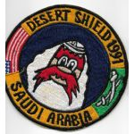 Desert Shield 1991 Saudi Arabia Yosemite Sam Cruise Patch