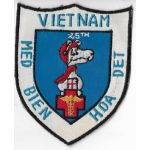 Vietnam 25th Medical Detachment Bien Hoa SNOOPY Pocket Patch