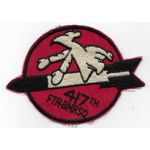 1950's-60's US Air Force 417th Fighter Bomber Squadron Patch