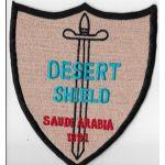 Operation Desert Shield Saudi Arabia 1991 Tour Patch