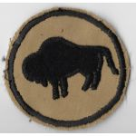 Late-1940's-50's 92nd Division Theatre Made Patch
