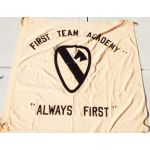 Vietnam 1st Cavalry Division First Team Academy Vietnamese Made Unit Flag