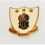 WWII - Occupation General Headquarters Military Railway Service Theatre Made DI