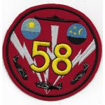 Late 1940's - 50's US Navy CLVG-58 Squadron Patch