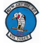 Vietnam 162nd Assault Helicopter Company STS VULTURES Pocket Patch